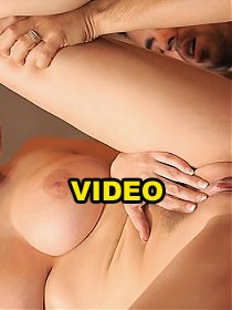 Hot big tits  babe gianna micheals gets her juicy bush licked on the bar table then pounded hard in these amazing fucking vids